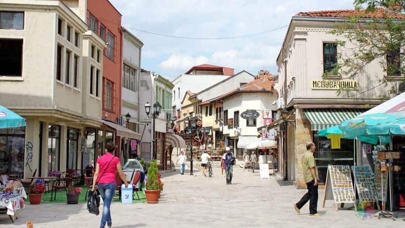 Üsküp'te nerede kalınır Üsküp Türk Çarşısı