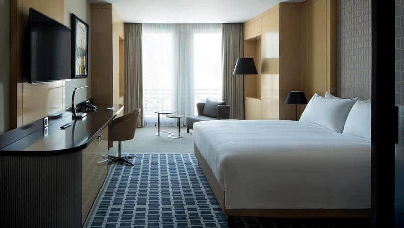 Üsküp'te nerede kalınır Marriott Hotel