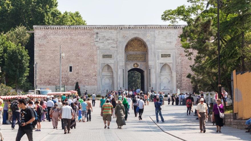 Topkapı Sarayı Bab-ı Hümayun Saltanat Kapısı