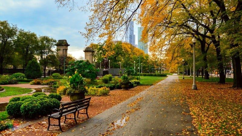 Grant Park Chicago gezilecek yerler
