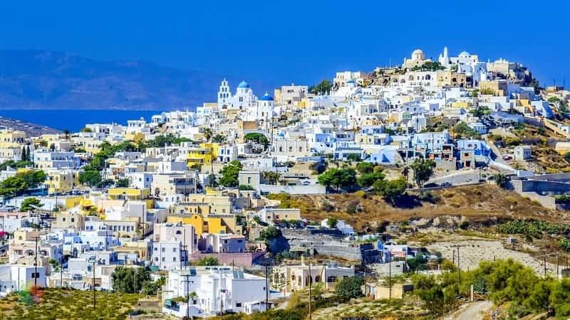 Pyrgos otelleri Santorini'de konaklama