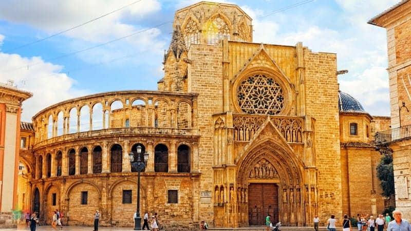 Valencia Cathedral Valencia gezilecek yerler