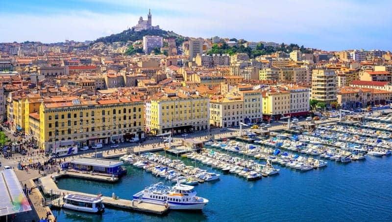 Marsilya'da nerede kalınır Vieux Port otelleri