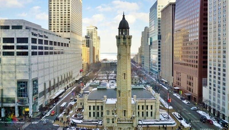 Water Tower Chicago'da gezilecek yerler