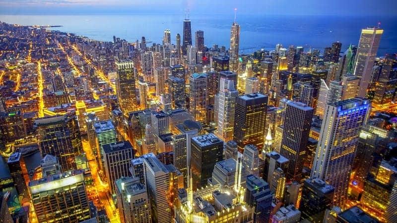 Willis Kulesi Skydeck Chicago tatili