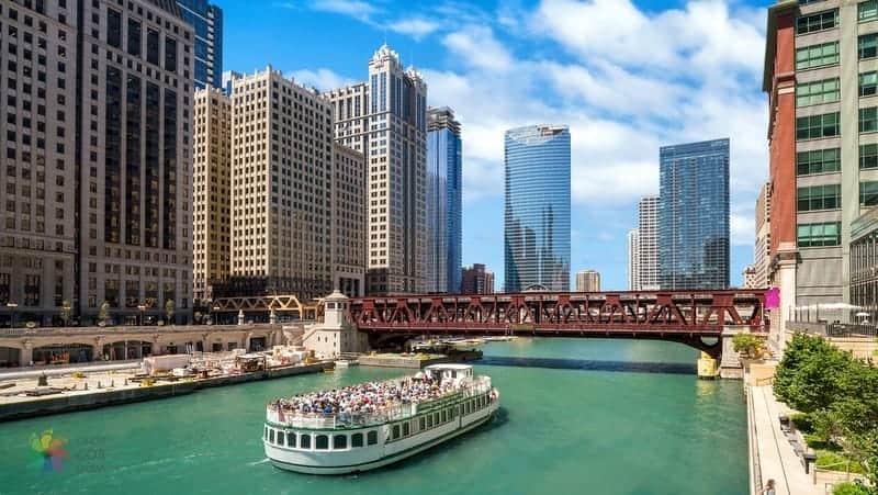 River Chicago gezilecek yerler