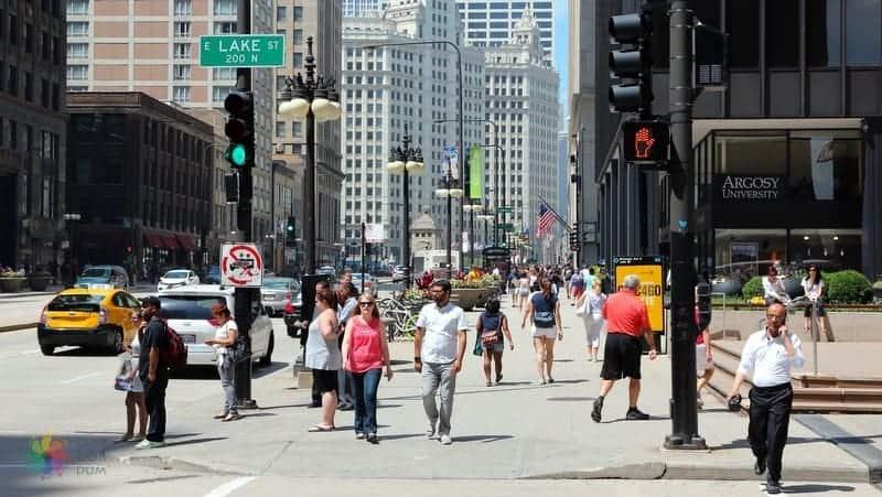magnificent mile Chicago'da gezilecek yerler