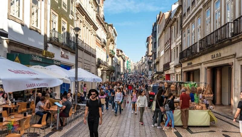 Baixa otelleri Porto'da nerede kalınır