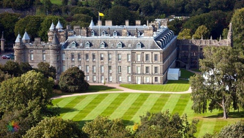 Holyrood Palace Edinburgh'da gezilecek yerler