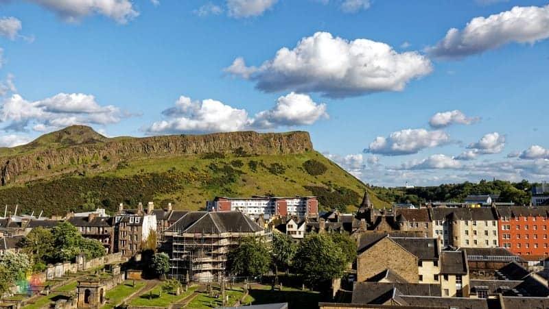 Holyrood Park Edinburgh gezilecek yerler