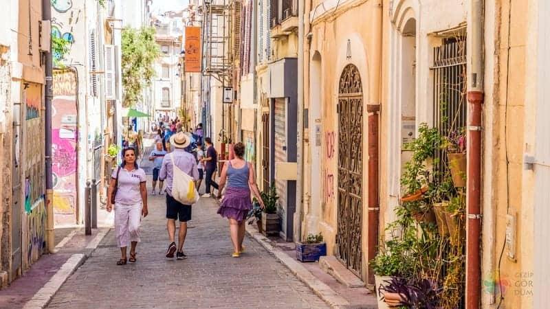 Le Panier Old Town Marsilya seyahati