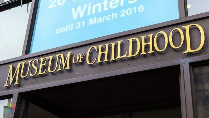 Museum of Childhood Edinburgh gezilecek yerler