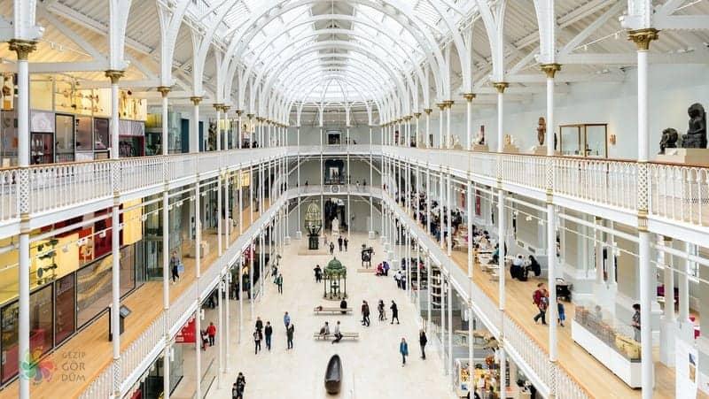 National Museum of Scotland Edinburgh'da gezilecek yerler