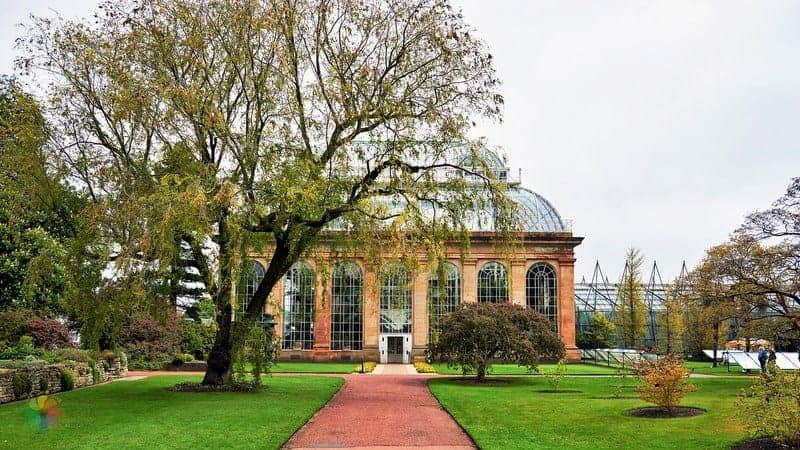 Royal Botanic Garden Edinburgh'da gezilecek yerler