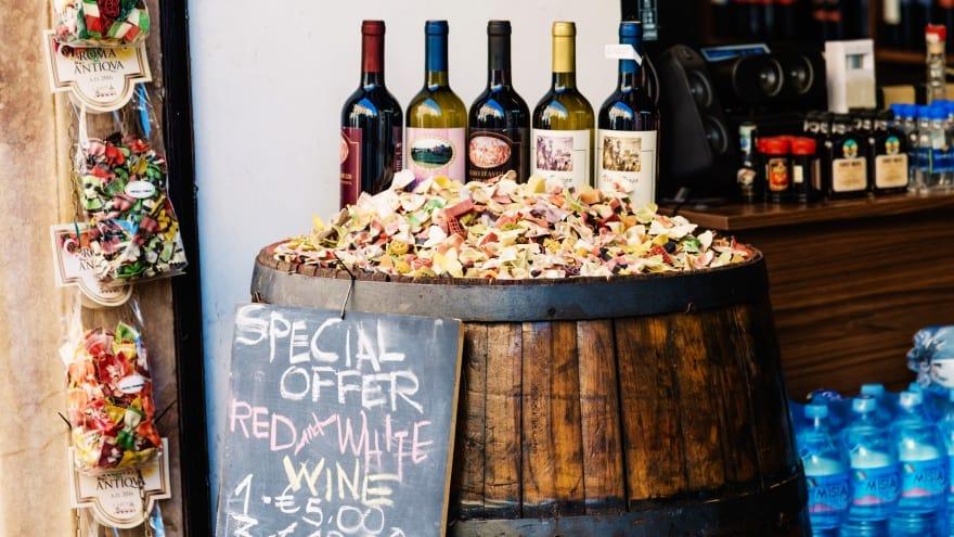 Roma'dan ne almalı? şarap