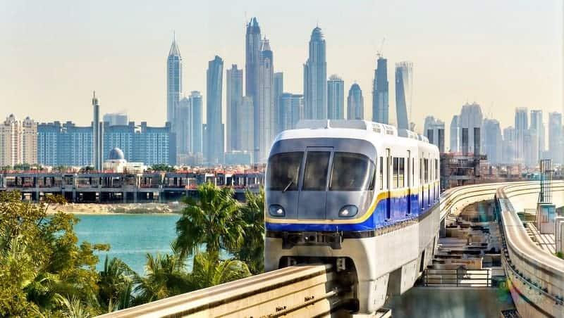 Dubai gezi notları, havaalanı şehir merkezi arası ulaşım