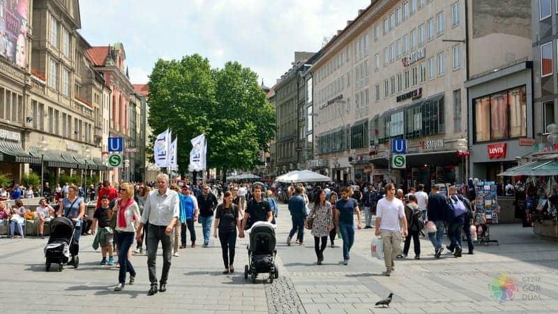 Münih gezi rehberi, Münih'te nerede alışveriş yapılır