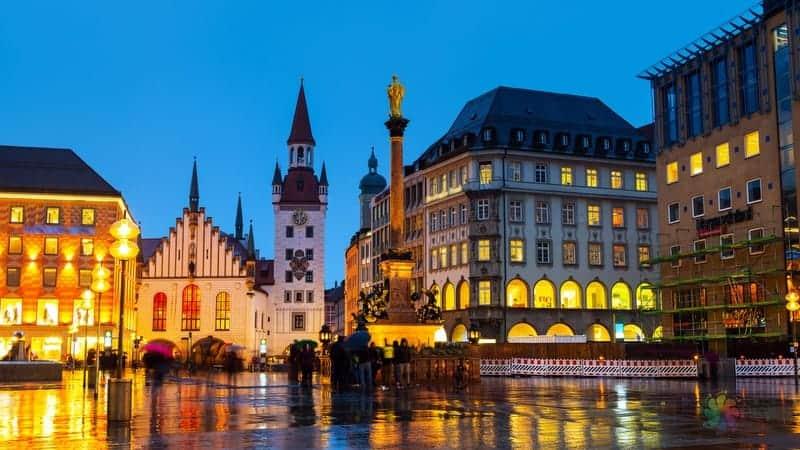Münih gezi notları, Münih'te nerede kalınır