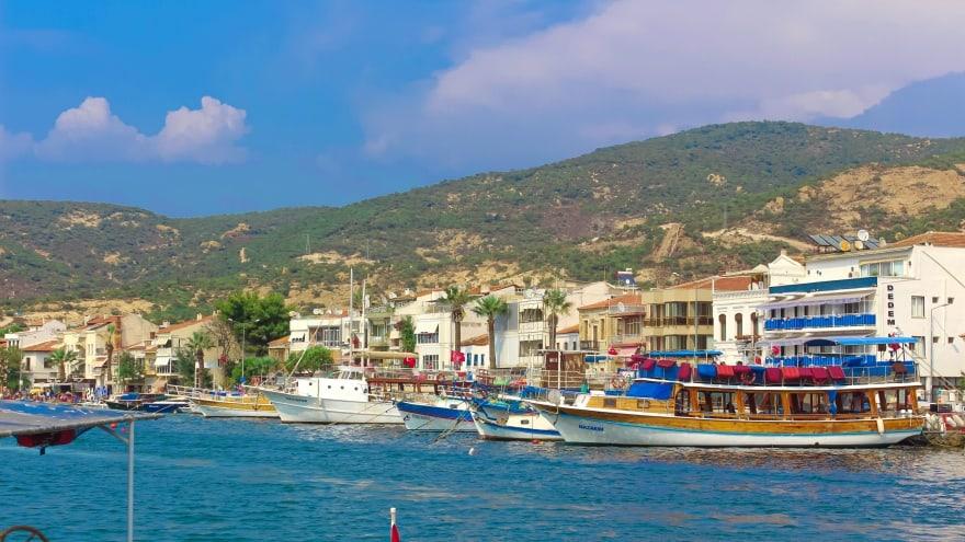İzmir gezi notları Eski Foça