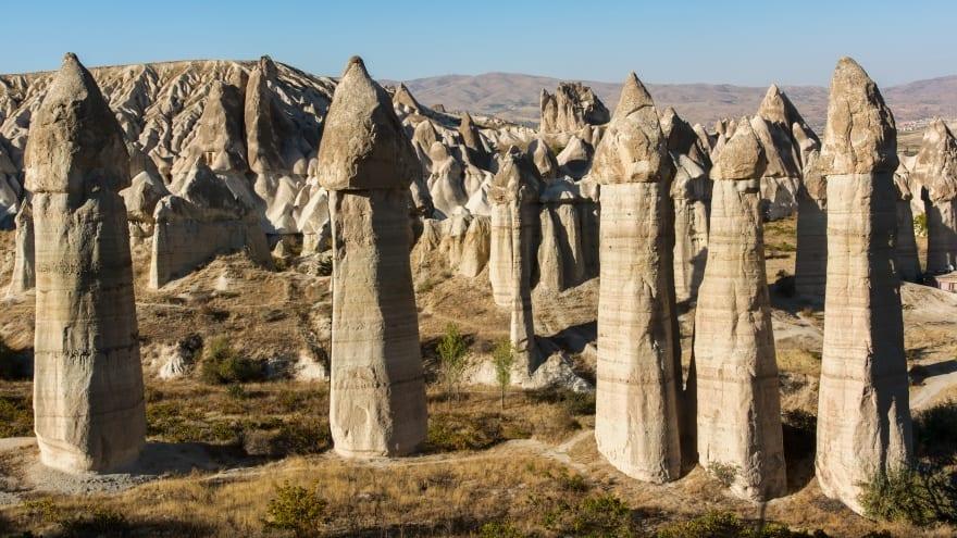 Kapadokya gezilecek yerler Aşk Vadisi