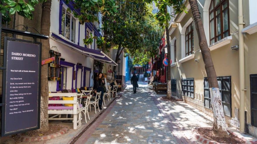 Dario Moreno Sokağı İzmir gezi rehberi