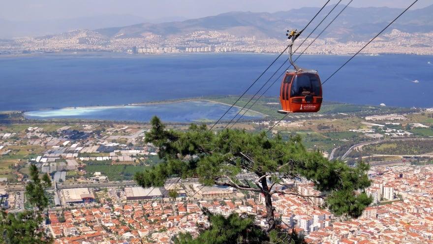 İzmir gezi rehberi teleferik