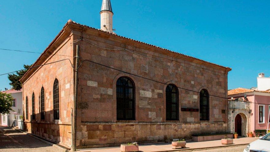 Alaybey Cami Bozcaada'da gezilmesi gereken yerler