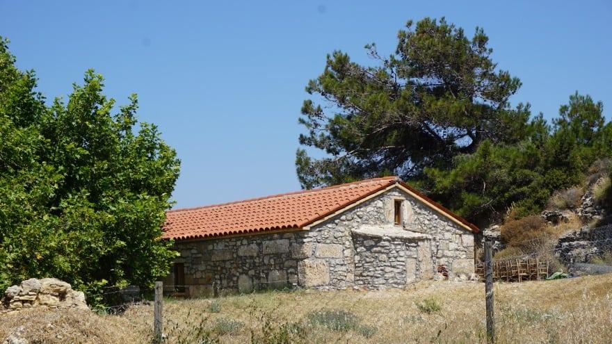Ayazma Manastırı Bozcaada gezilecek yerler