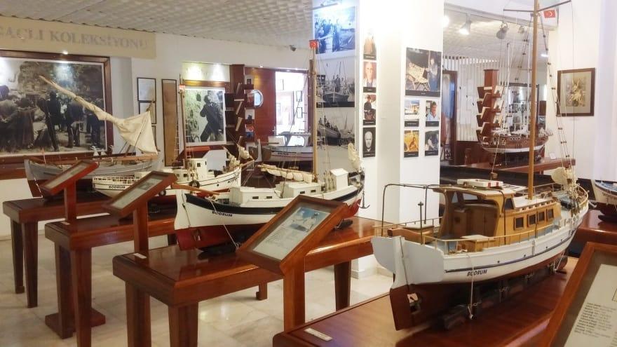 Deniz Müzesi Bodrum'da görülmesi gereken yerler