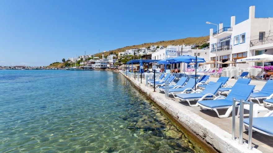 Bodrum gezilecek yerler ünlü Beach Clublar
