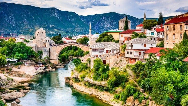 Balkanlar gezisi mostar gezisi bosna hersek