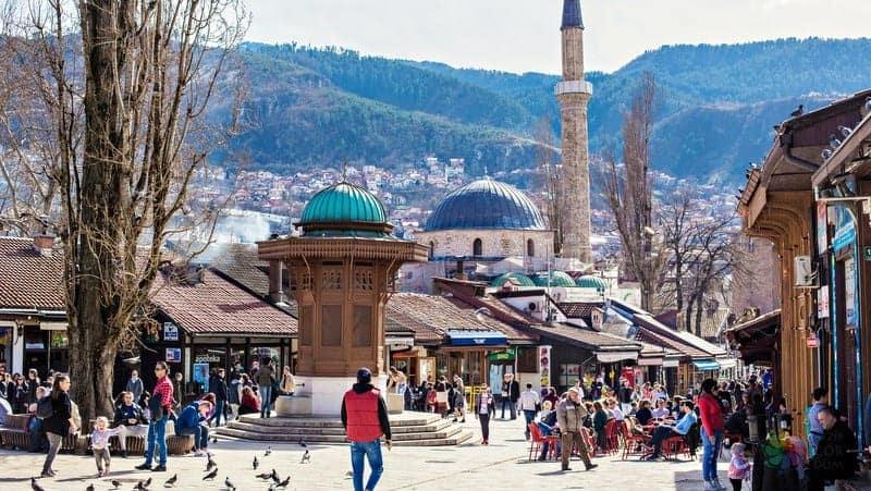 Vizesiz Balkan Turu saraybosna gezisi