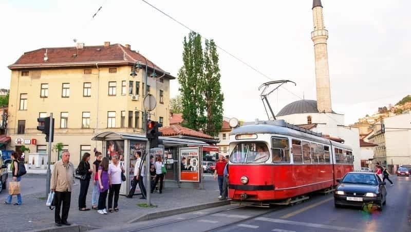Vizesiz Balkan Turu şehir içi ulaşım araçları