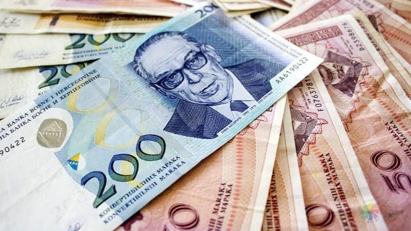 Balkanlar seyahati boyunca para bozdurma