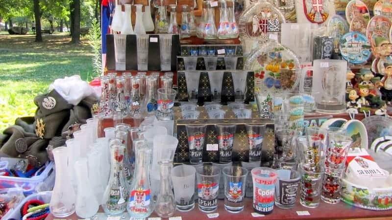 Vizesiz Balkan Turu boyunca alışveriş