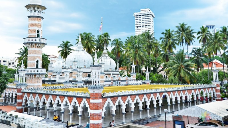 Masjid Jamek Kuala Lumpur gezilecek yerler