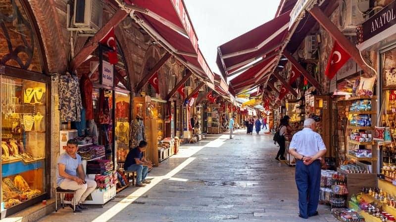 Arasta Bazaar istanbul gezilecek yerler