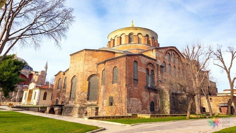 Aya irini Kilisesi istanbul'da gezip görülecek yerler