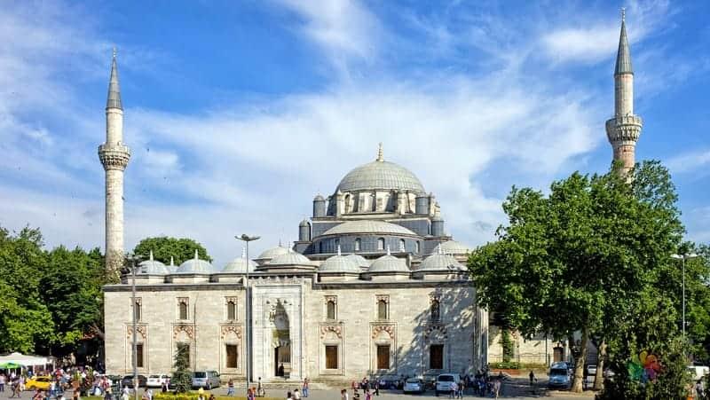 Beyazıt Camii istanbul gezilecek yerler