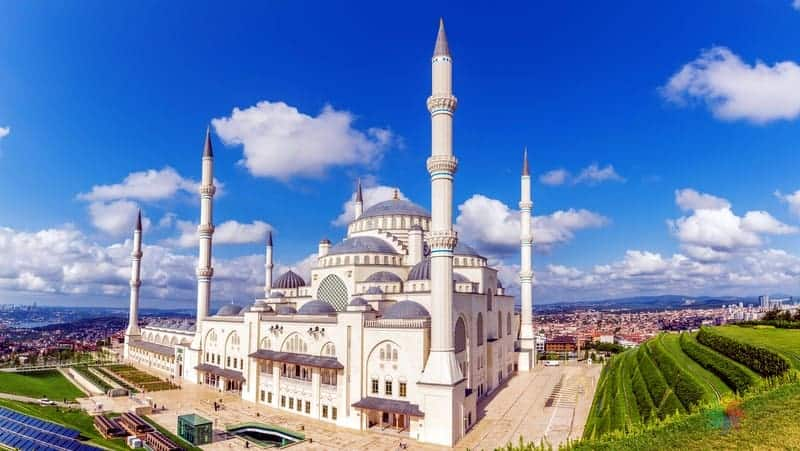 Büyük Çamlıca Camii istanbul gezilecek yerler