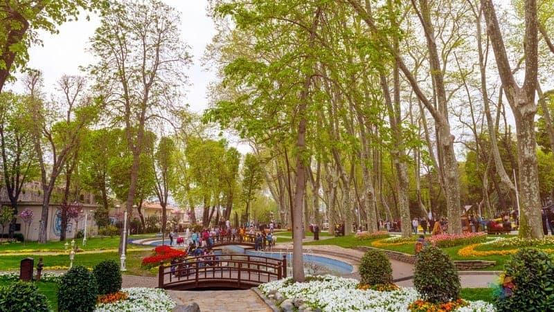 Gülhane Parkı istanbul'da görülmesi gereken yerler
