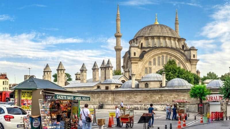 Nuruosmaniye Camii istanbul gezi notları