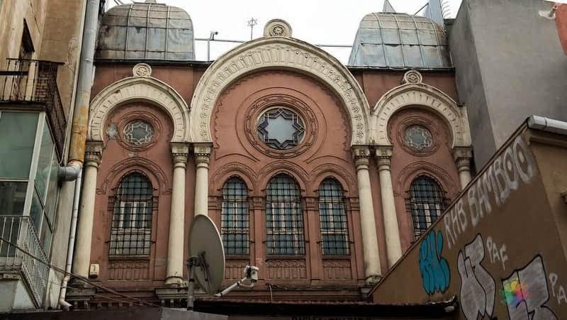 ahrida sinagogu istanbul gezilecek yerler