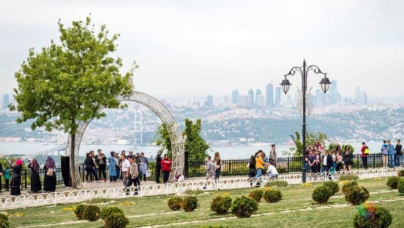 Çamlıca Tepesi istanbul'da nereler gezilmeli