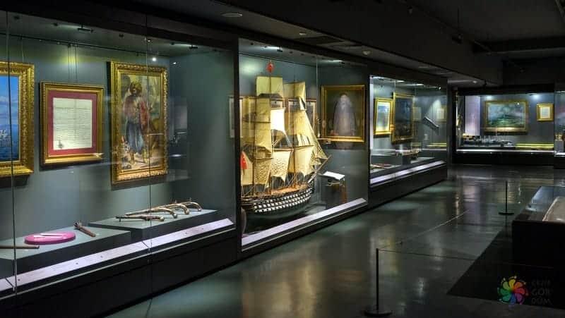 Deniz Müzesi istanbul'da gezilmesi gereken yerler
