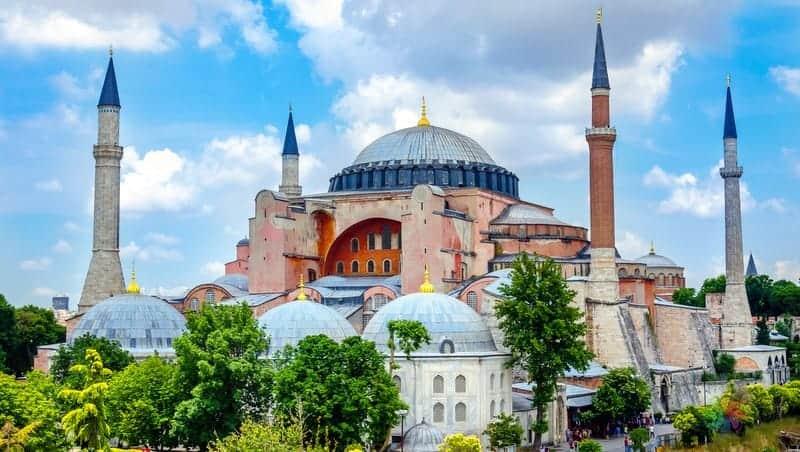 ayasofya istanbul'da gezilmesi gereken yerler