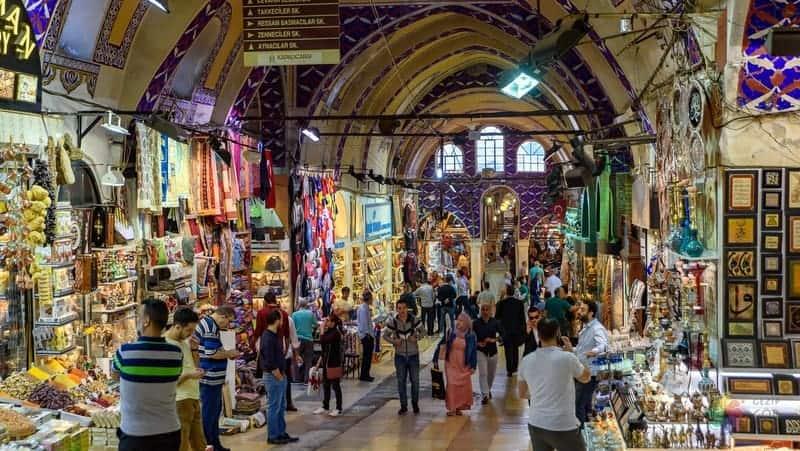 kapalıçarşı istanbul gezilecek yerler