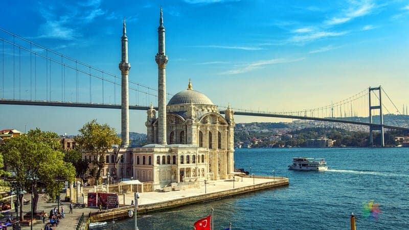 ortaköy camii istanbul gezilecek yerler