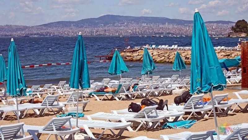 istanbul gezilecek yerler, denize girilecek yerler
