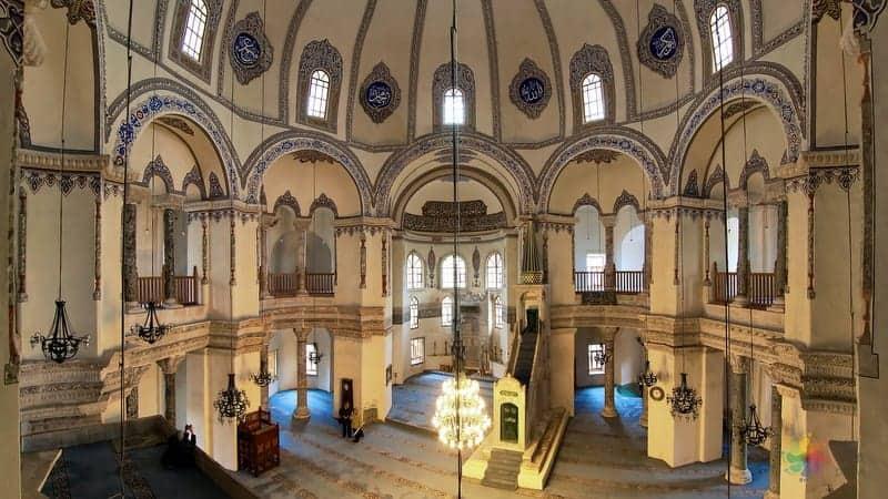 Küçük Ayasofya cami istanbul gezisi
